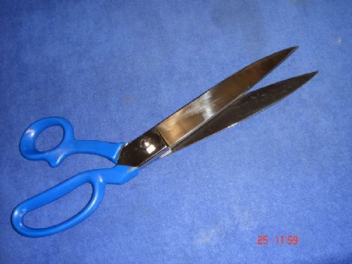 "Carpet Tailor Dressmakers 12"" 300mm Scissors Shears with PVC Coated Handles Knife Edge"